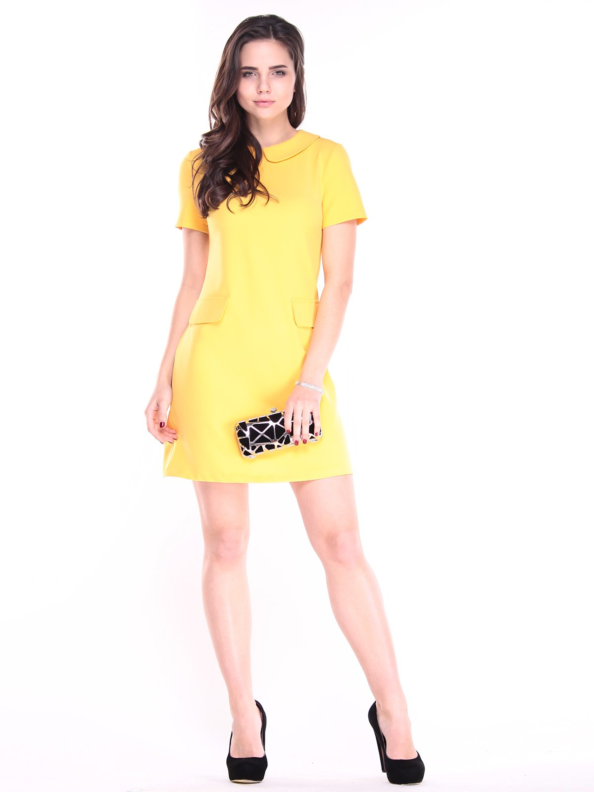 Платье солнечного цвета | 2952463