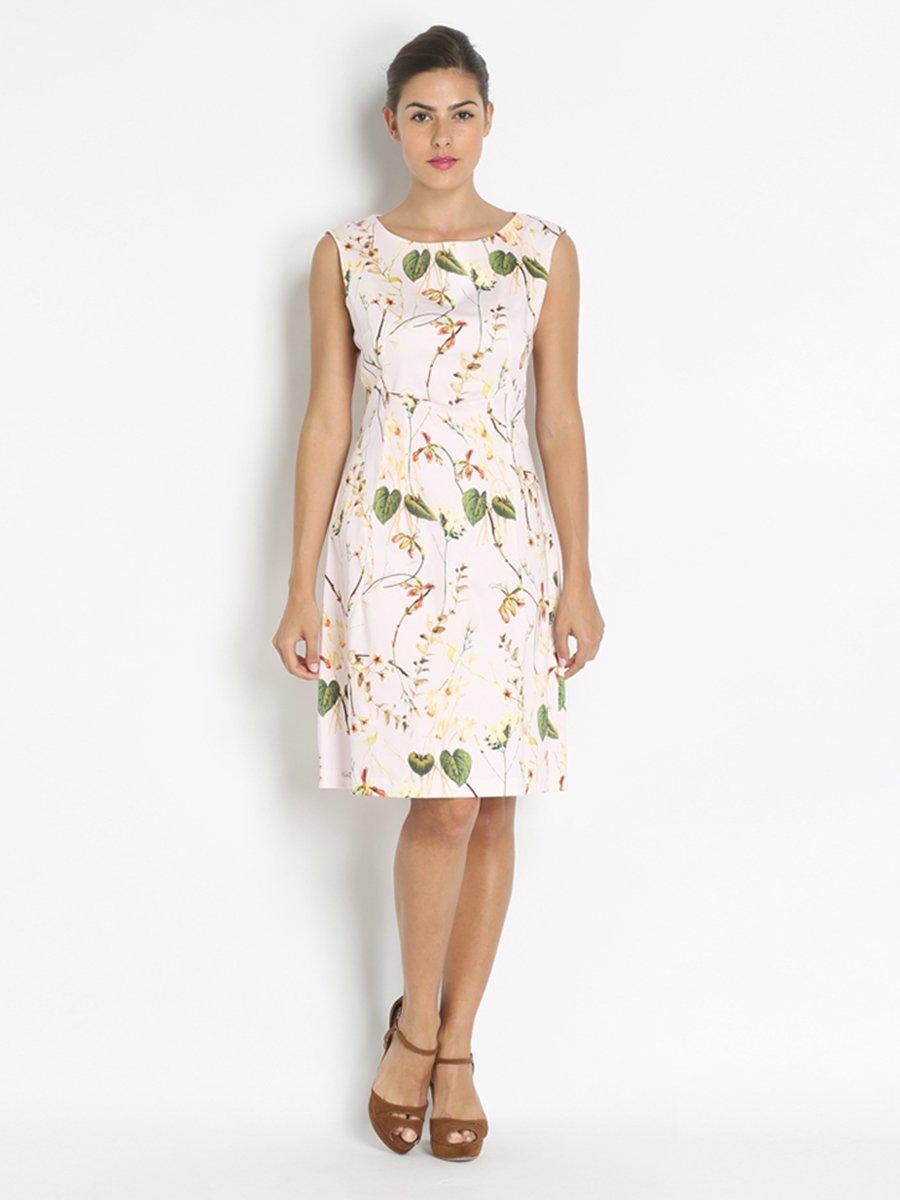 Платье цветочной расцветки | 2976969