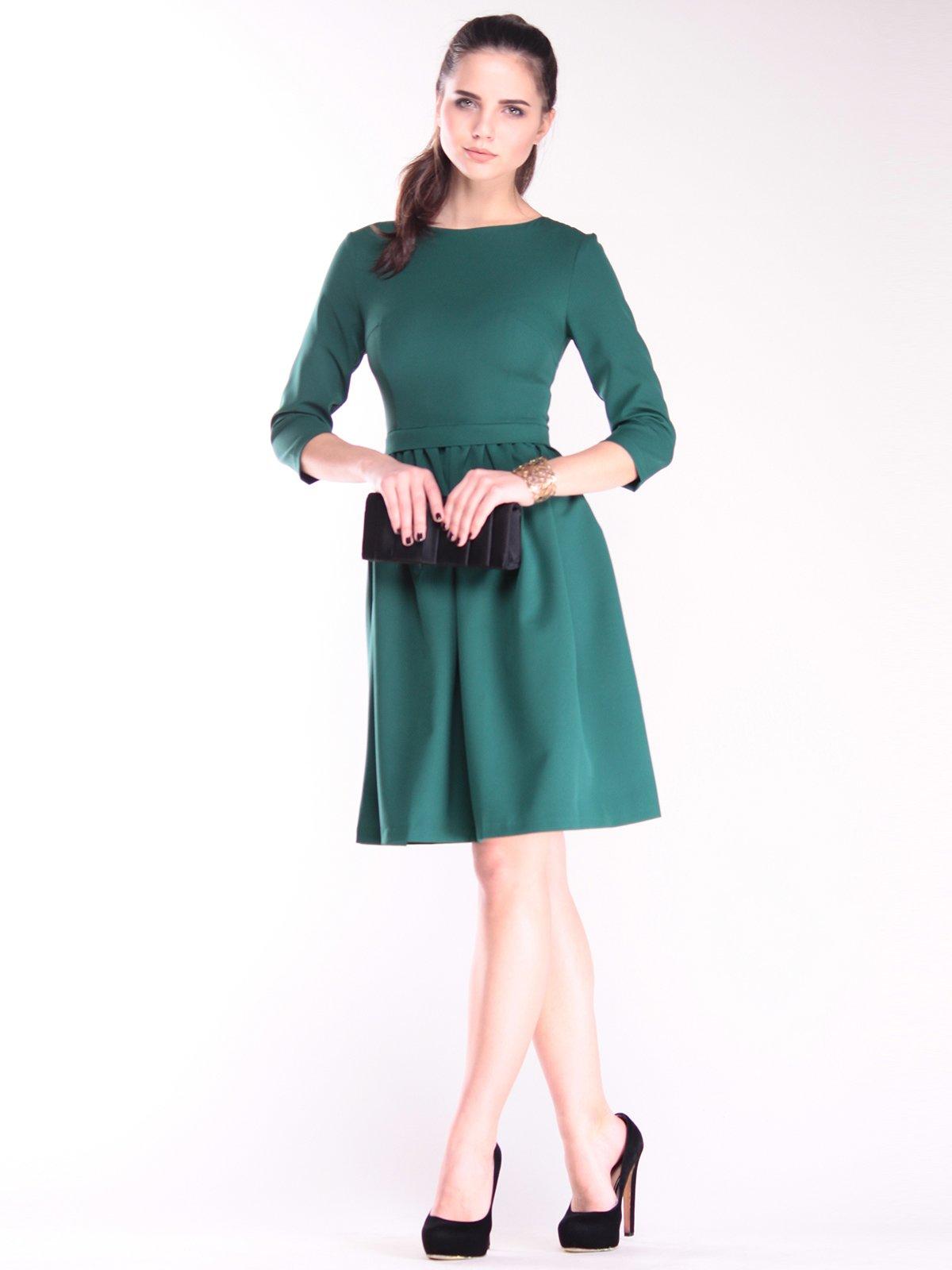 Платье темно-изумрудного цвета | 2844982