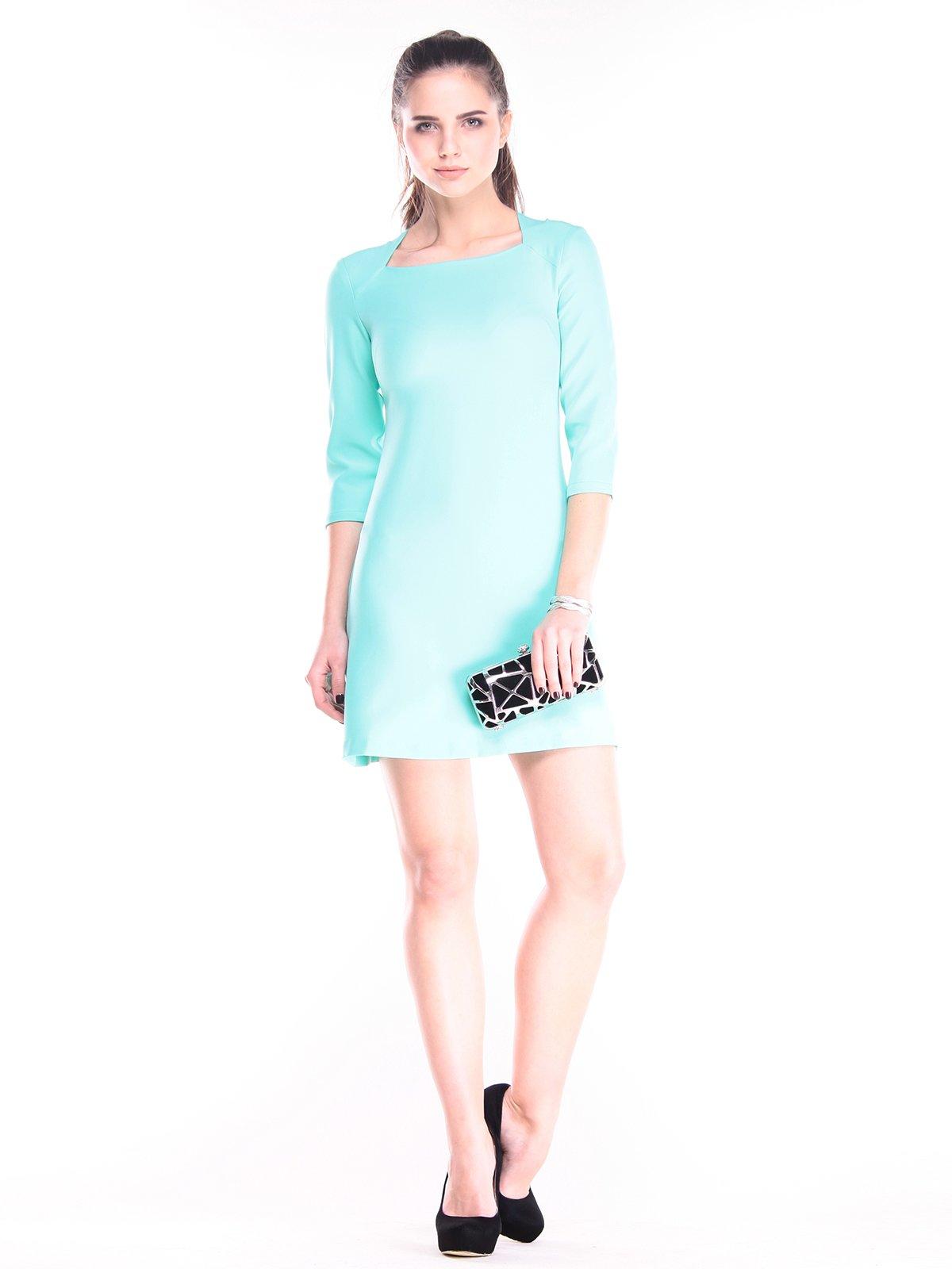 Платье ментолового цвета   2852986
