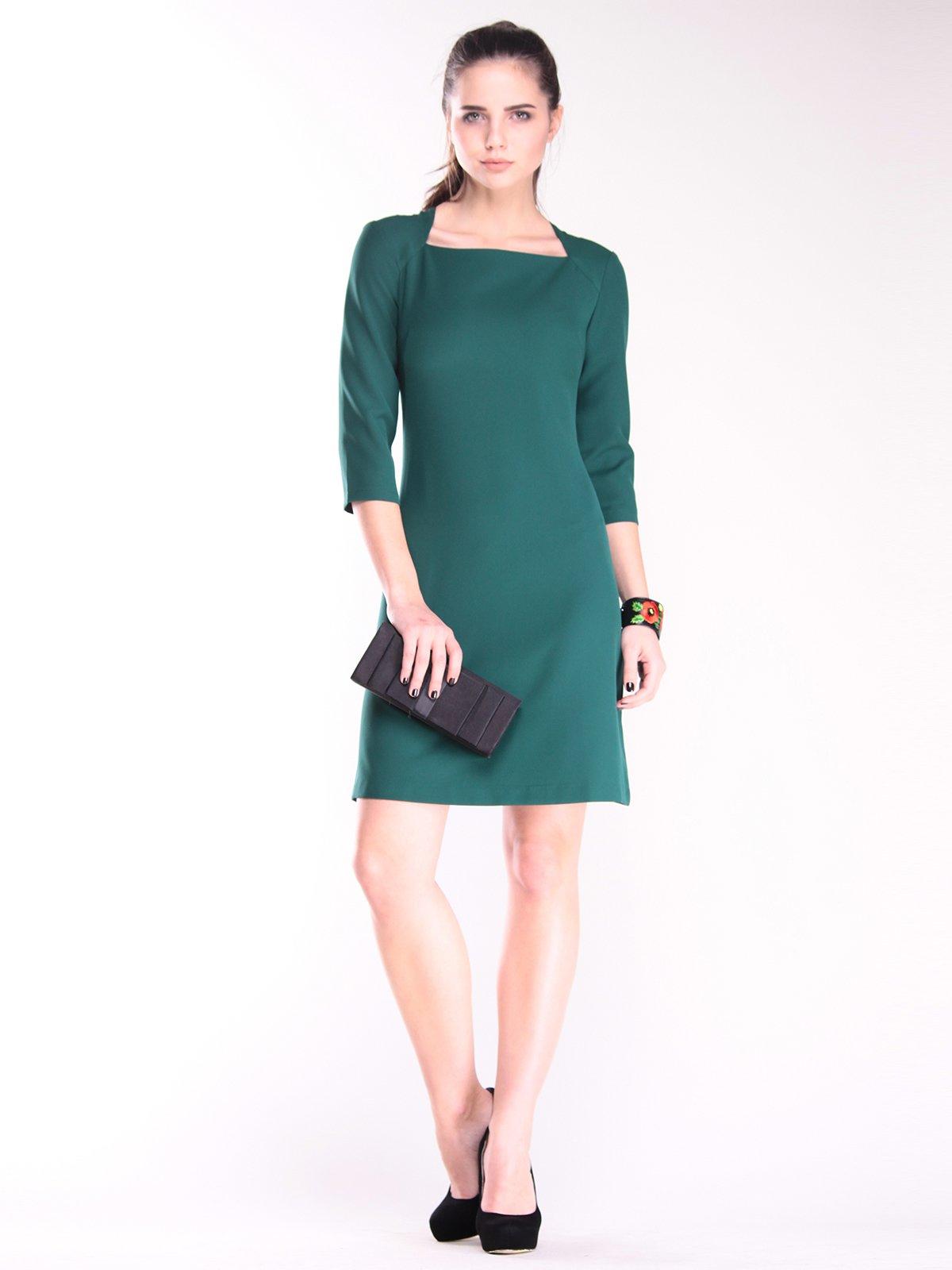 Сукня темно-смарагдового кольору   2870778