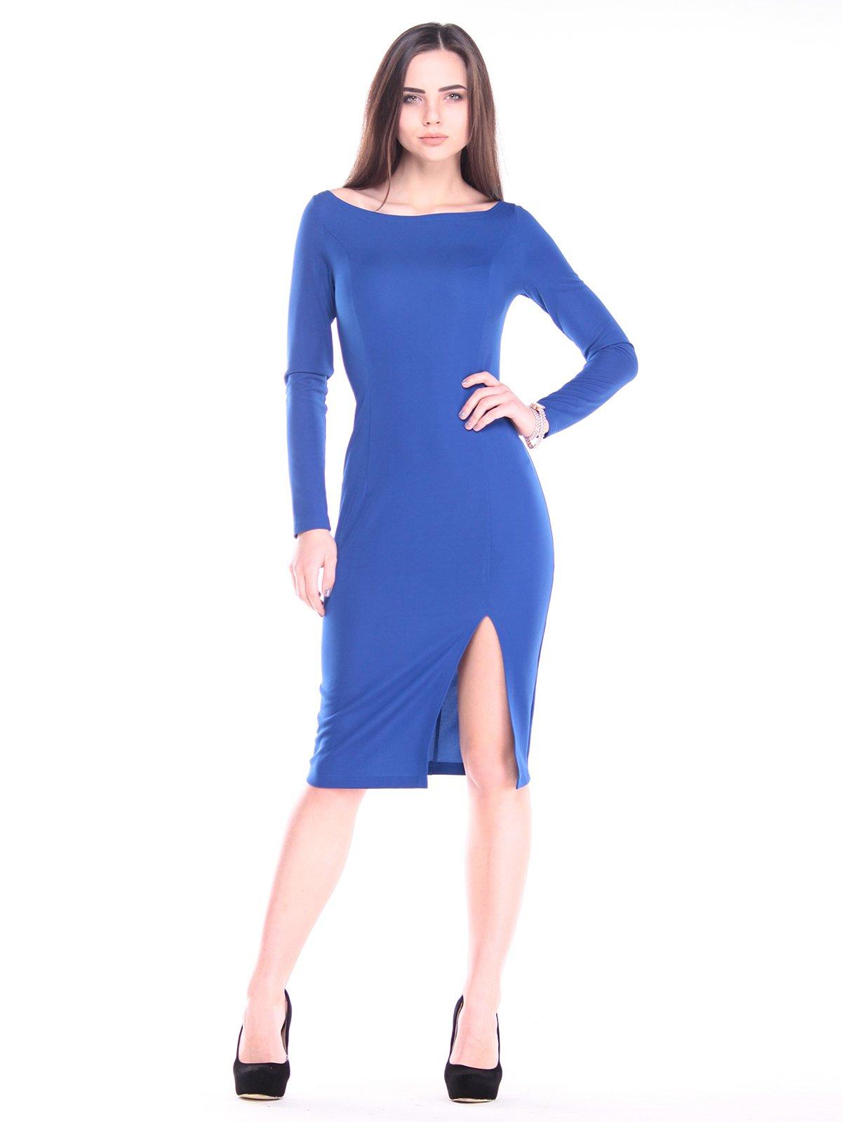 Сукня кольору електрик | 2917943