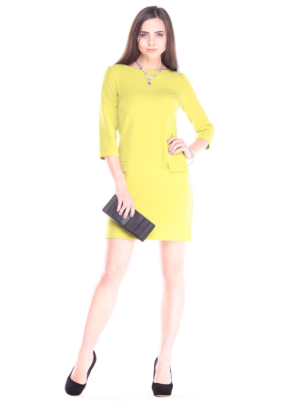 Платье цвета авокадо | 2917963