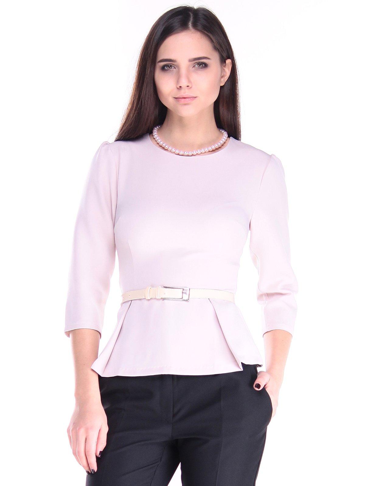 Блуза бежевая | 2917965