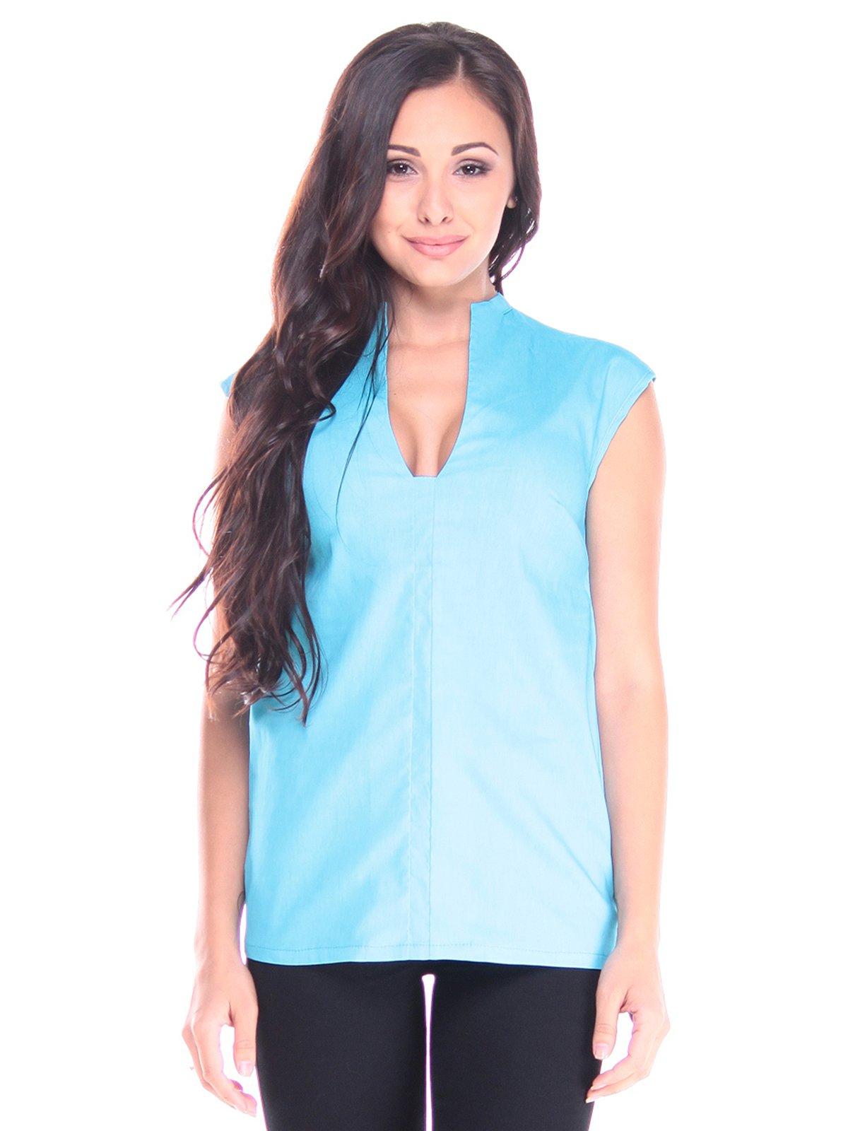 Блуза голубая | 2917999
