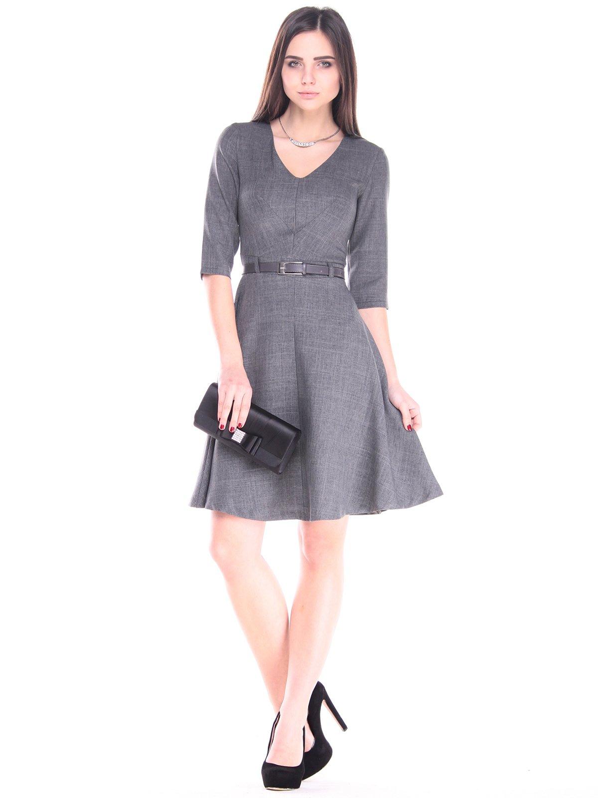 Платье графитовое | 2918025