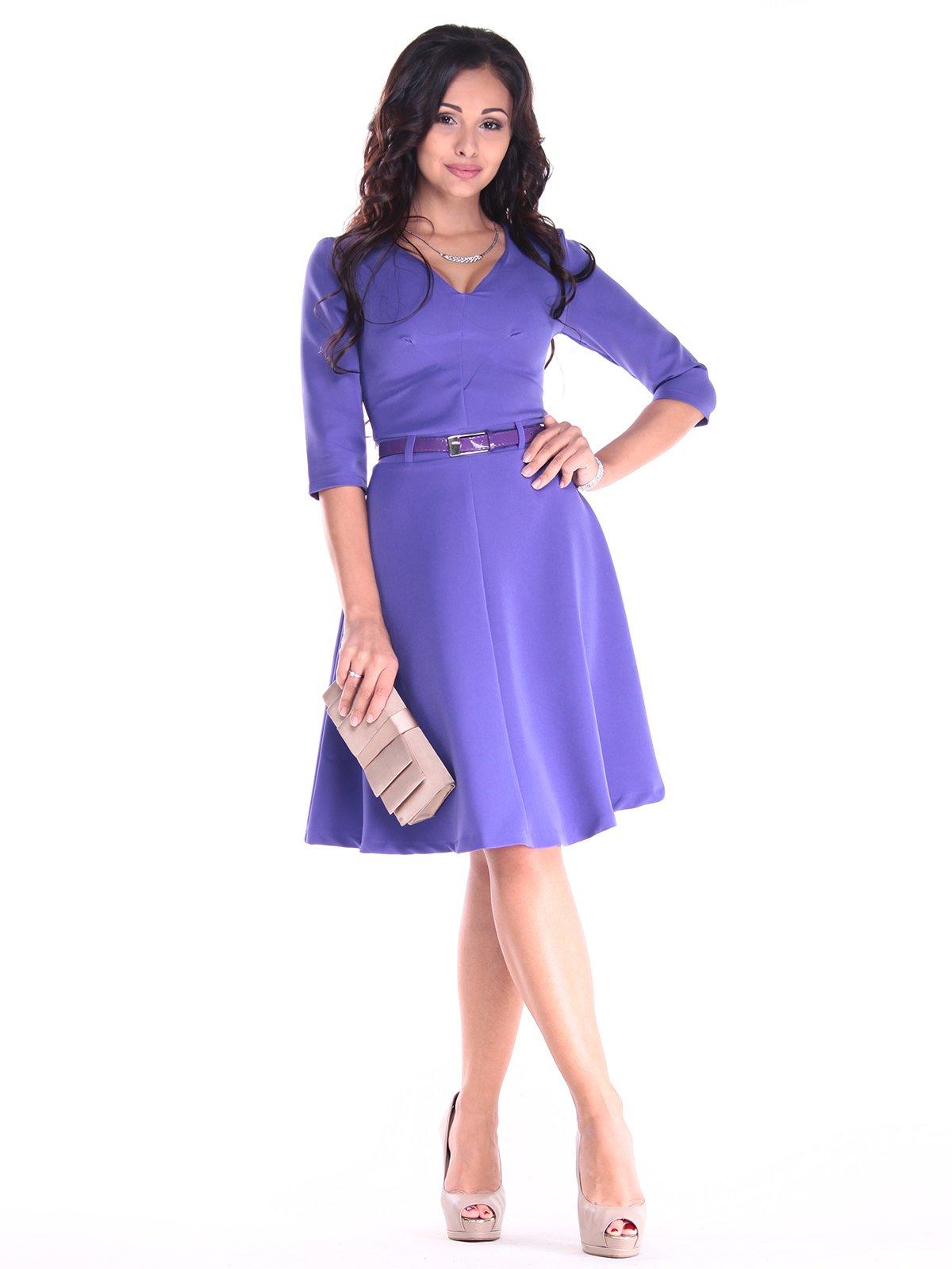 Платье сиреневого цвета | 2918026