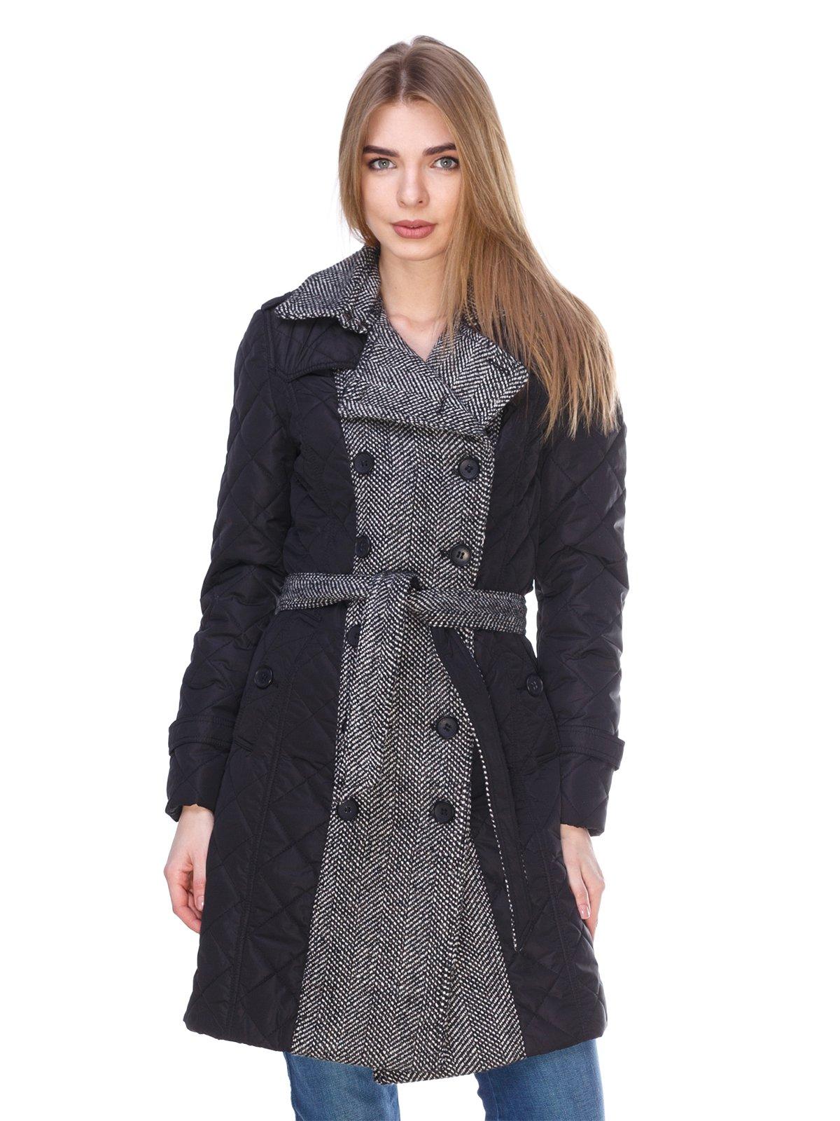 Пальто чорно-біле | 2973386
