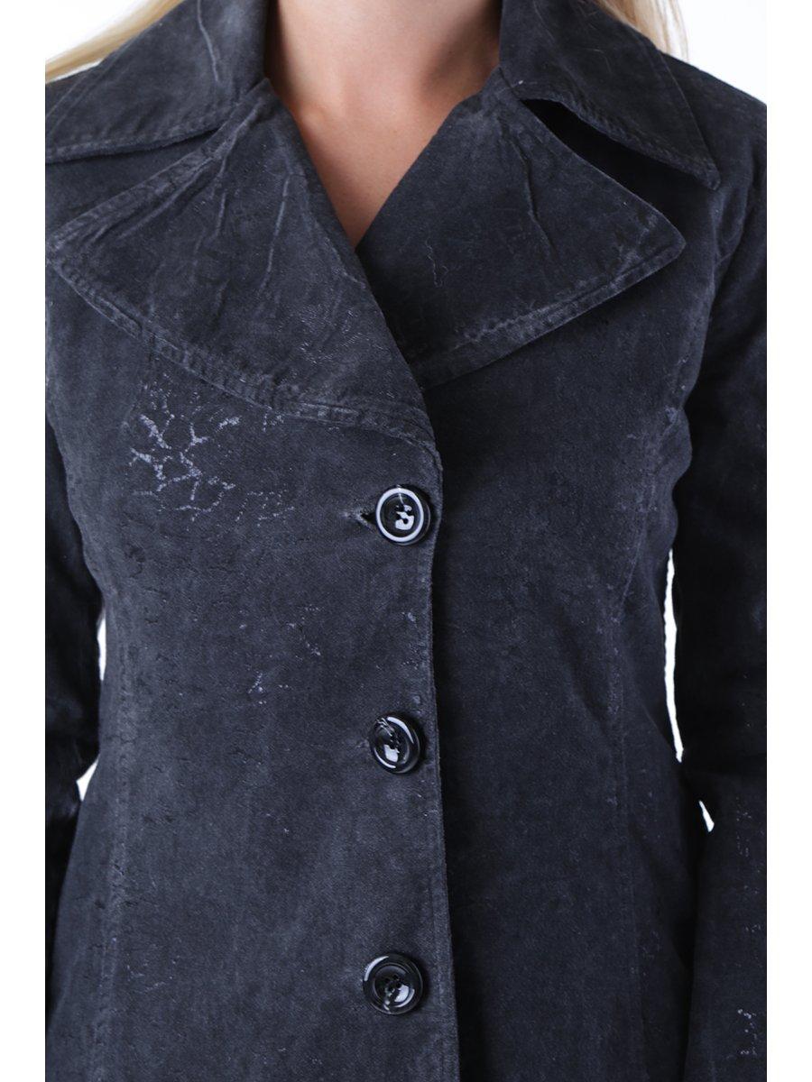 Пальто темно-серое   2985148   фото 4