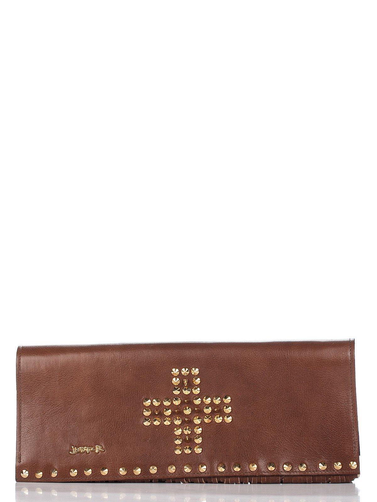 Клатч коричневий | 2453110