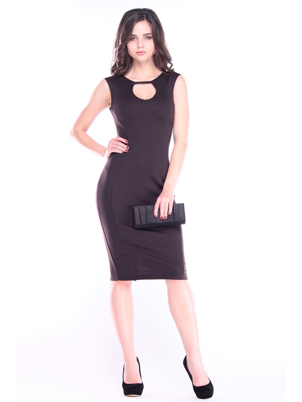 Платье шоколадное | 2985936