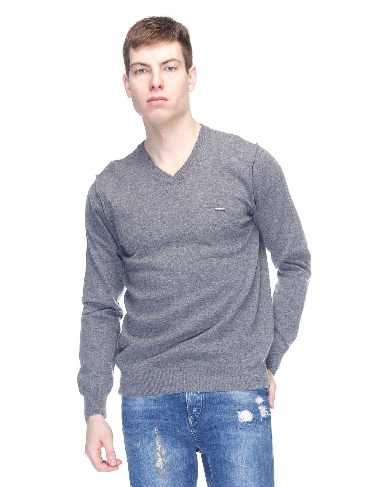 Пуловер сірий   2813175