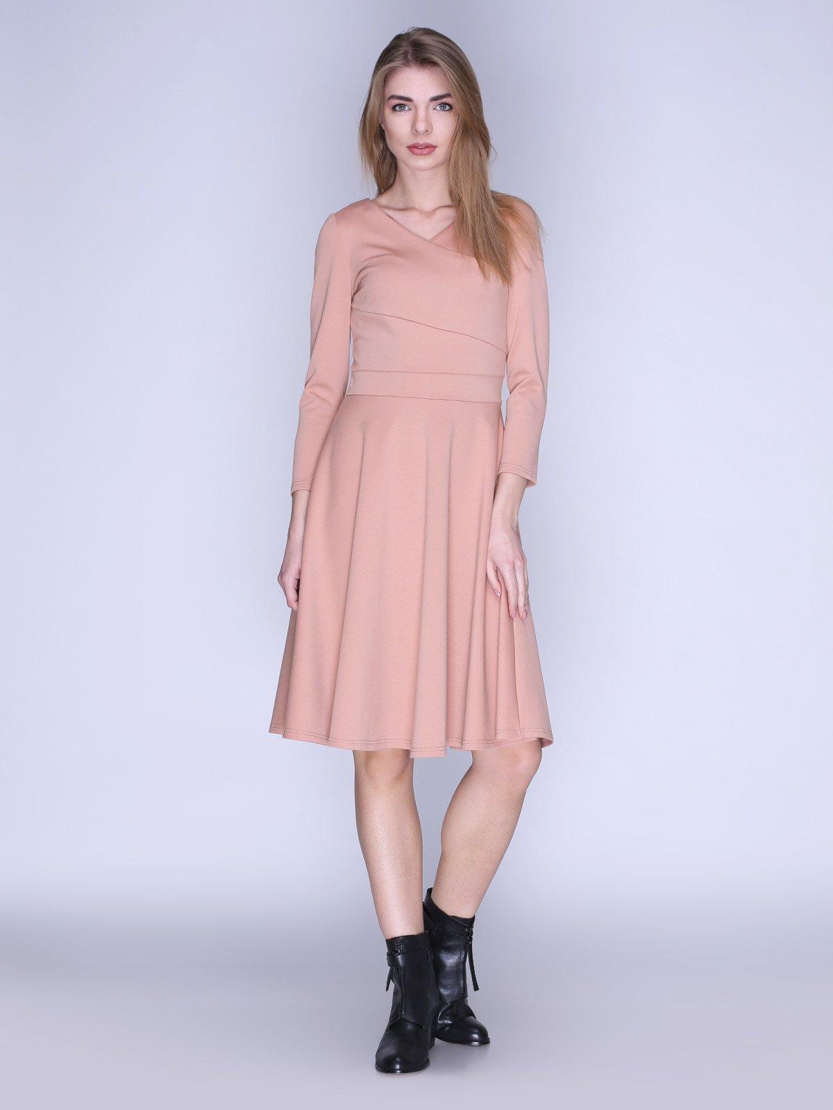 Платье бежевое | 2988238