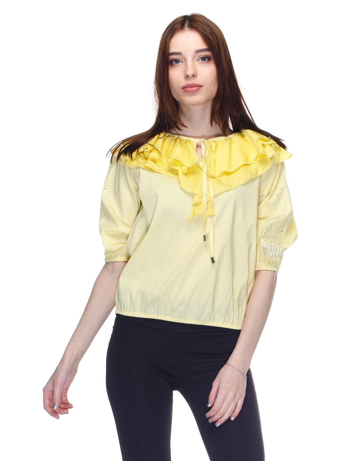 Блуза желтая | 2645149