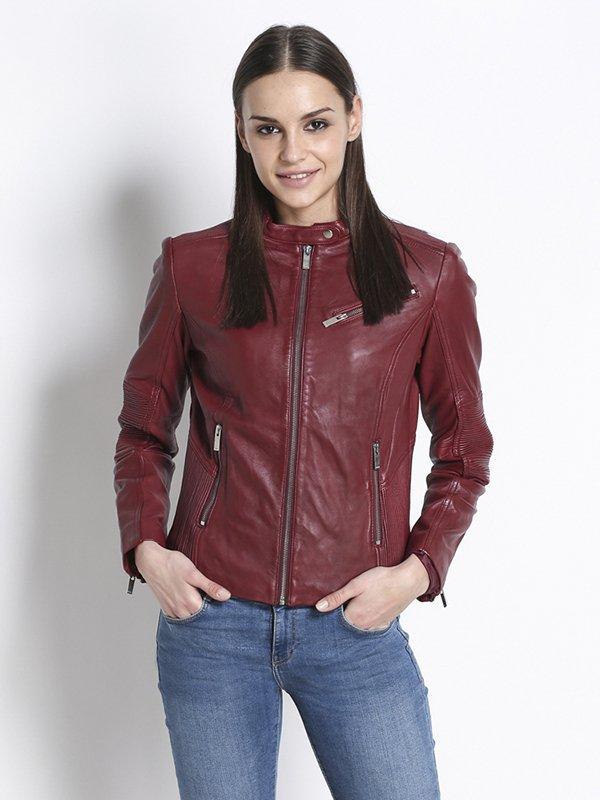 Куртка бордовая | 2996900