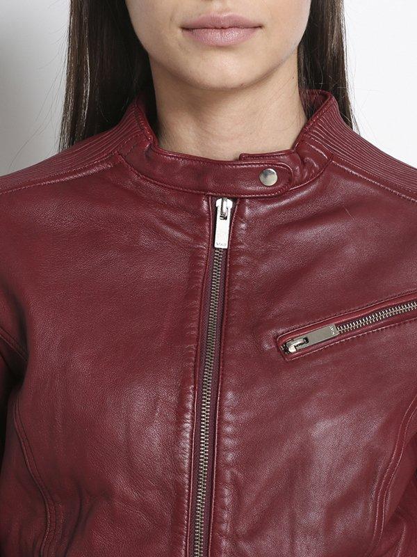 Куртка бордовая | 2996900 | фото 3