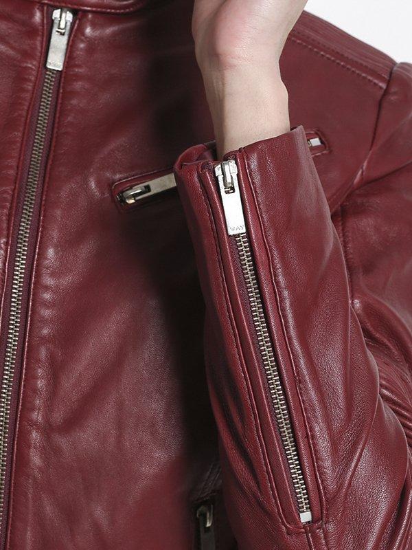 Куртка бордовая | 2996900 | фото 4
