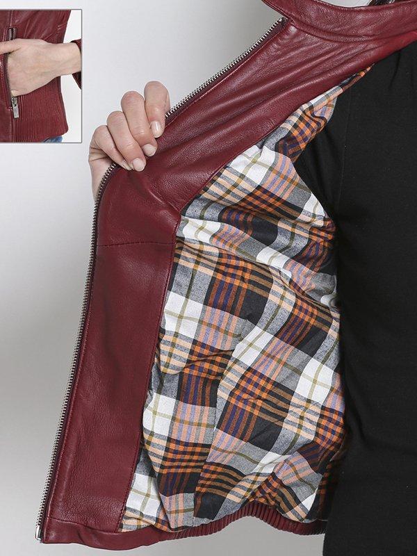 Куртка бордовая | 2996900 | фото 5