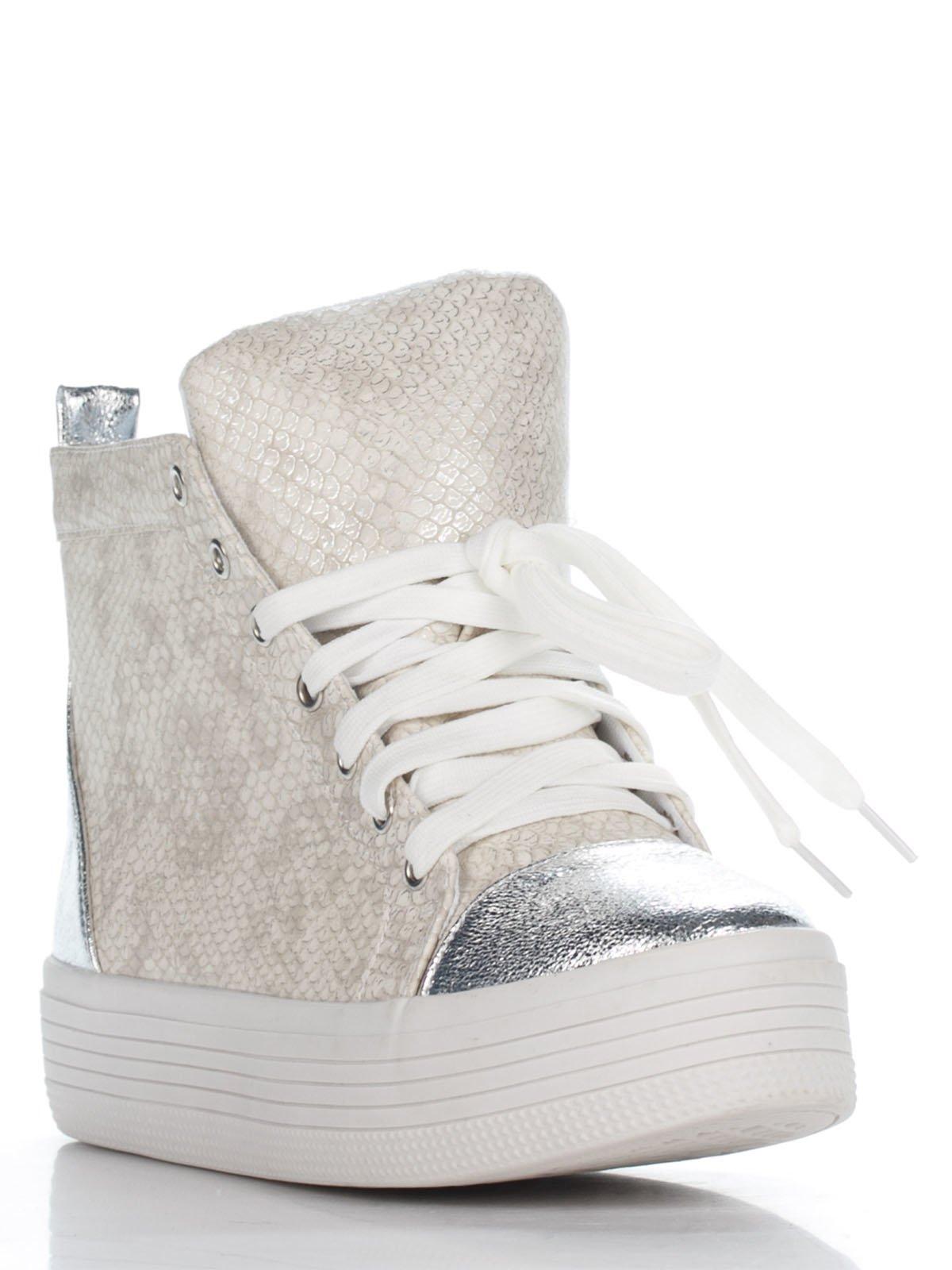 Снікерси золотисто-срібні | 2974899