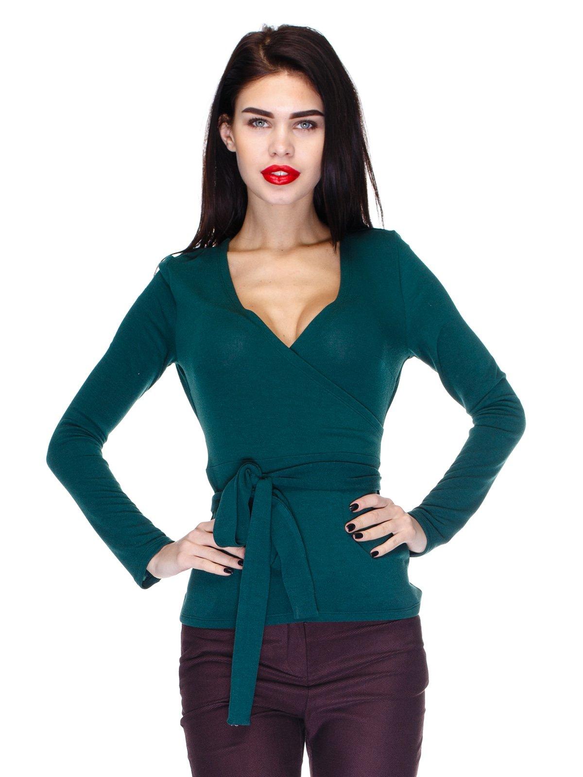 Пуловер смарагдовий | 2981671