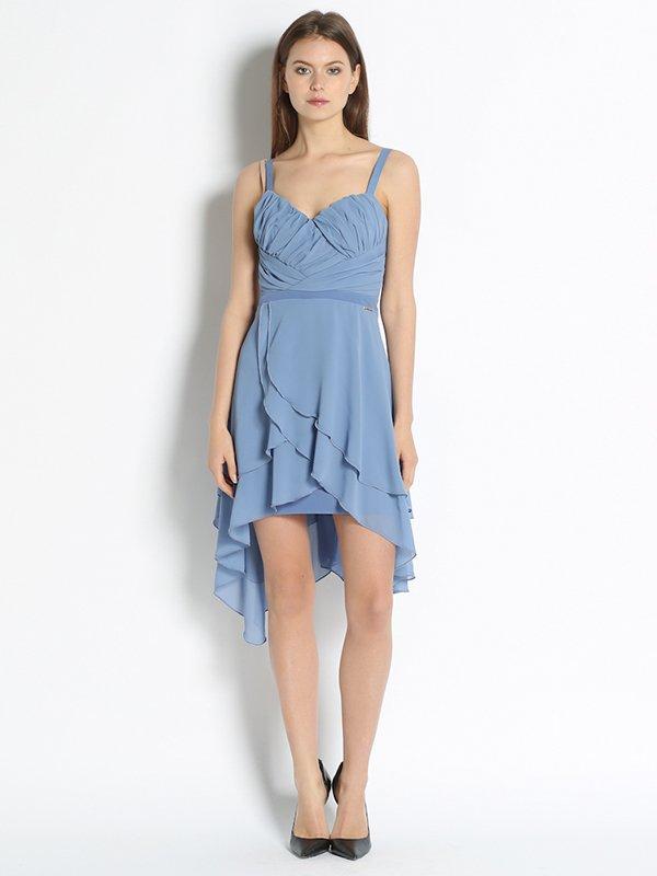 Платье голубое   3001574