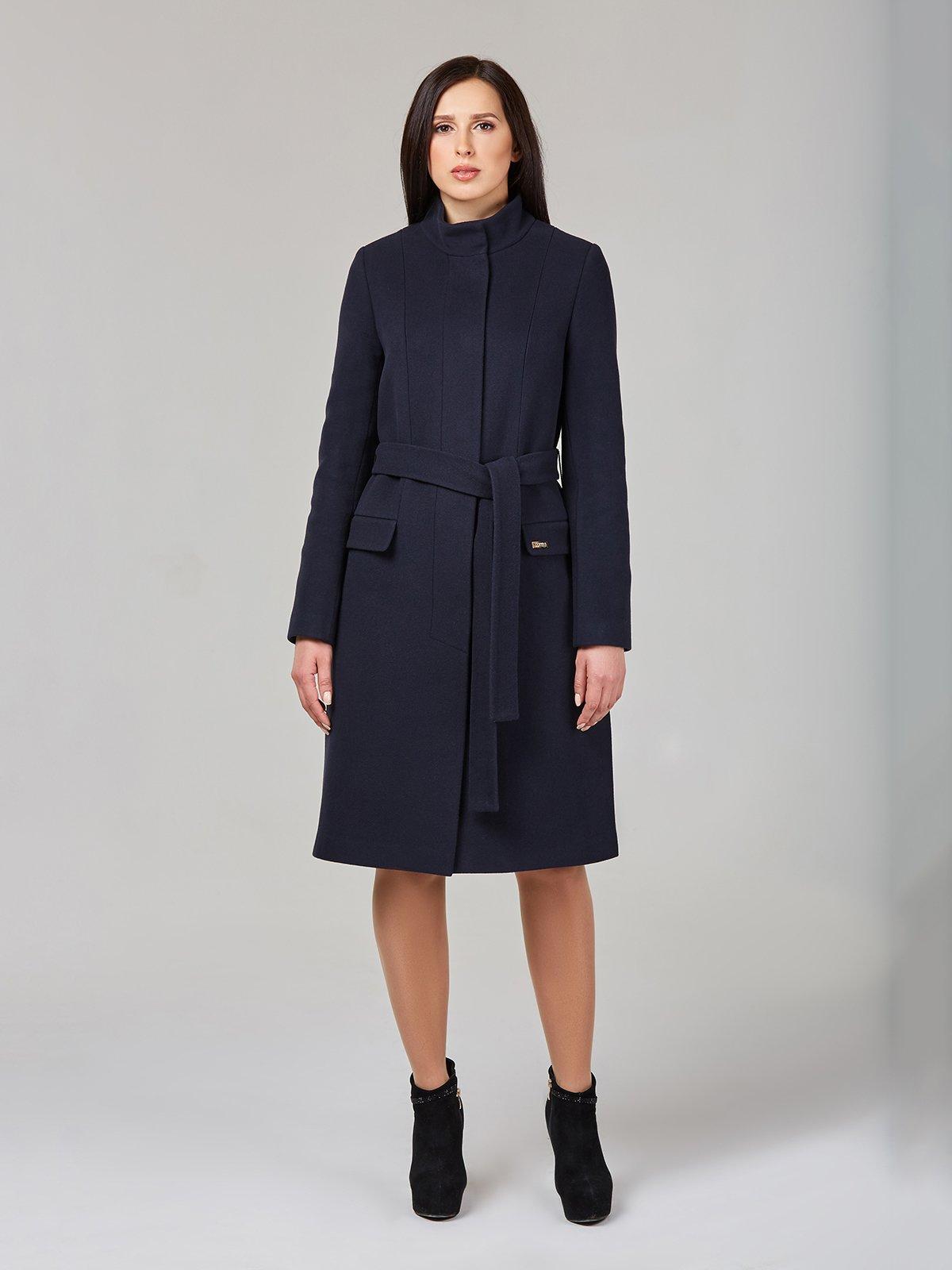 Пальто темно-синє | 2944188