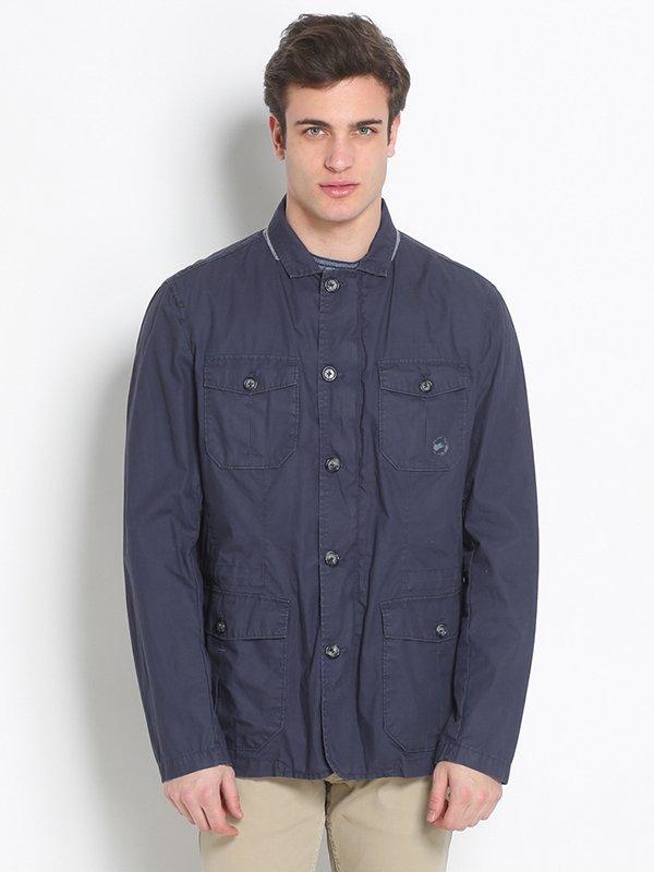 Куртка синяя   2308135