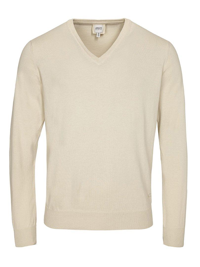Пуловер кремового цвета | 2918828