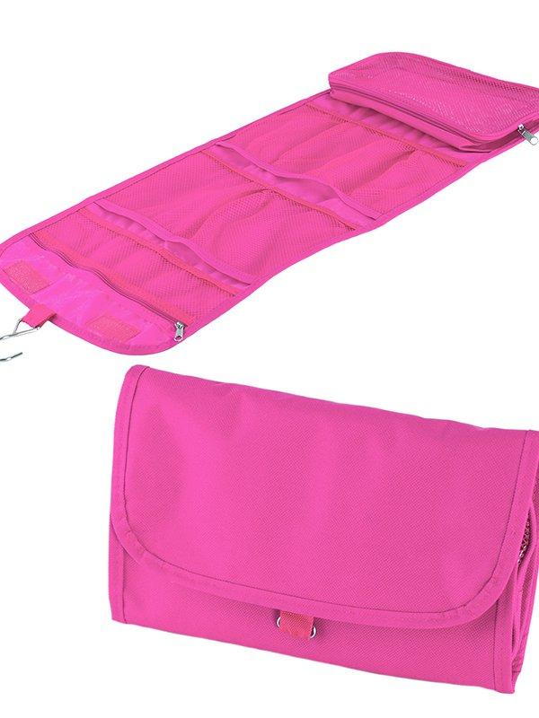 Складана косметичка рожева | 3016609