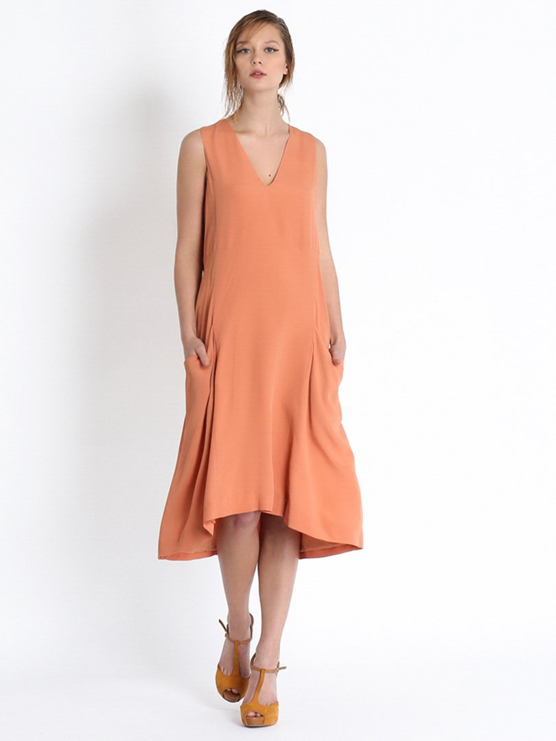 Платье оранжевое   2480829