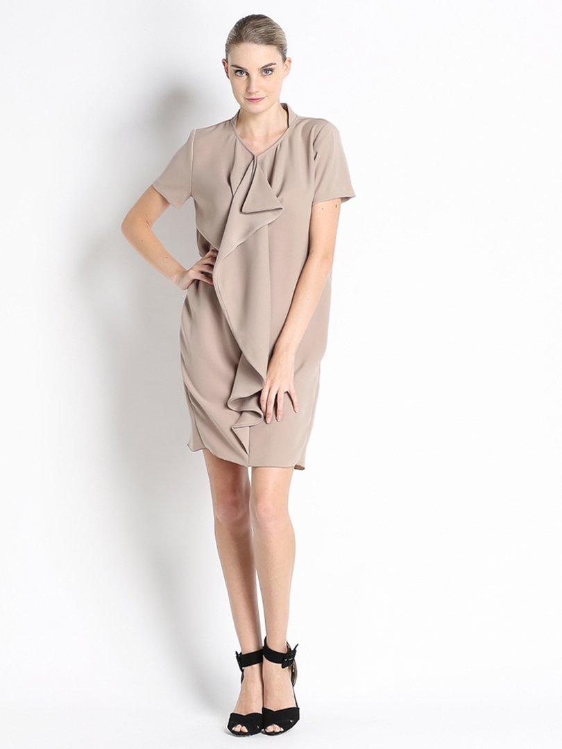 Платье цвета пудры | 2683119