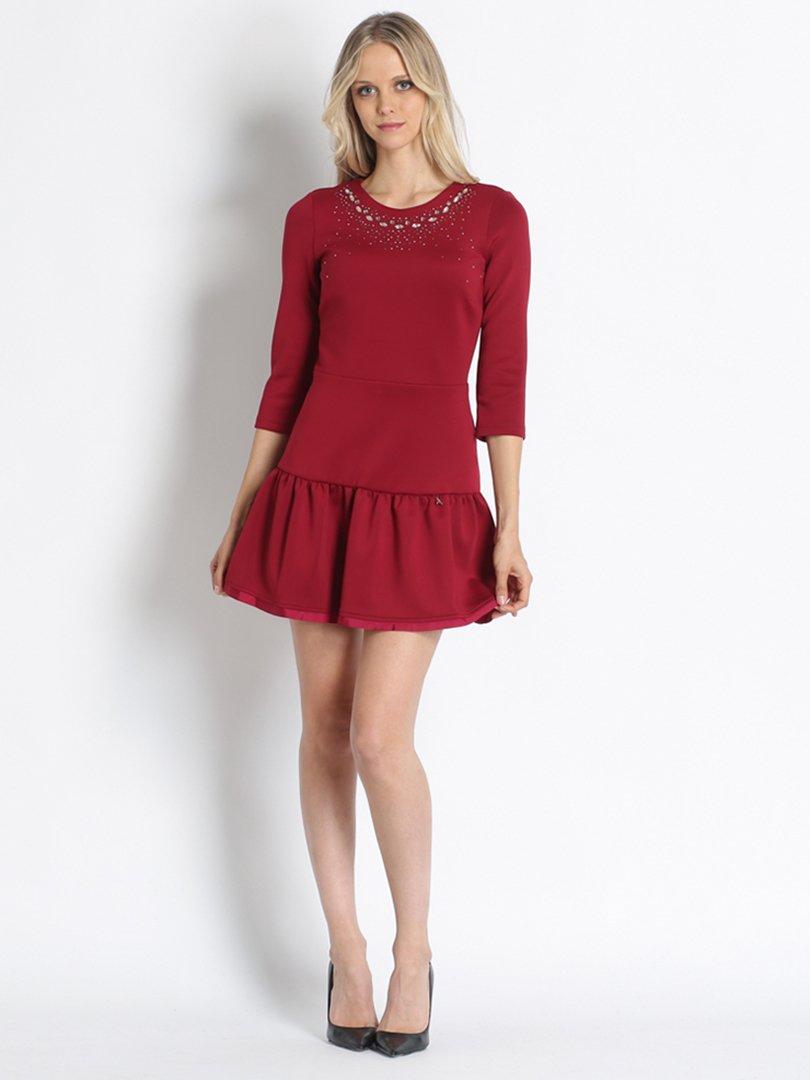 Платье красное | 2739675