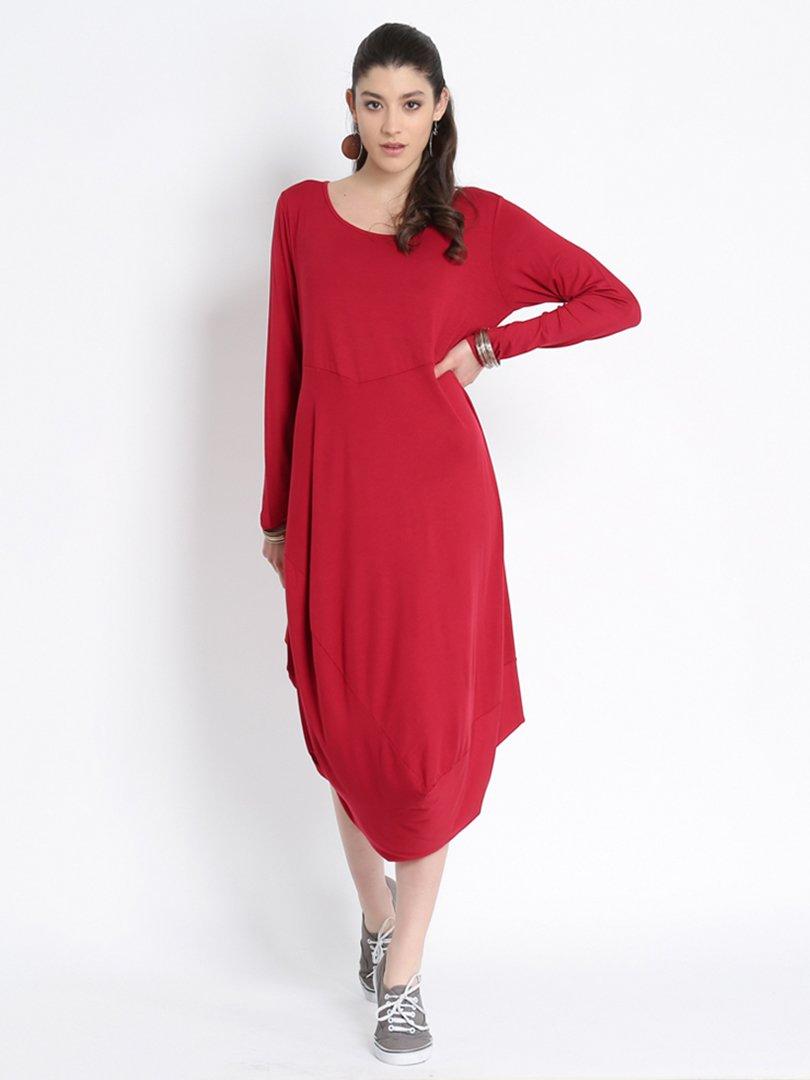Платье красное | 2889505