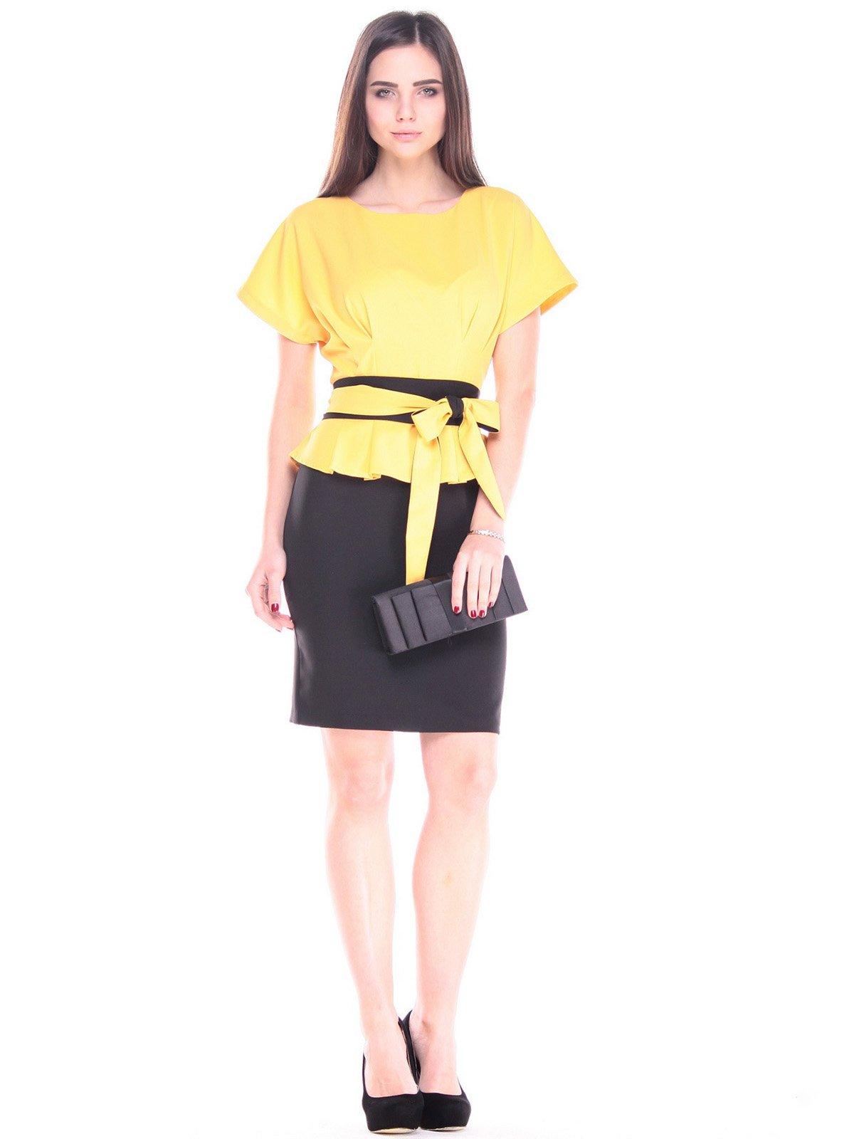 Сукня сонячно-чорна | 2900711