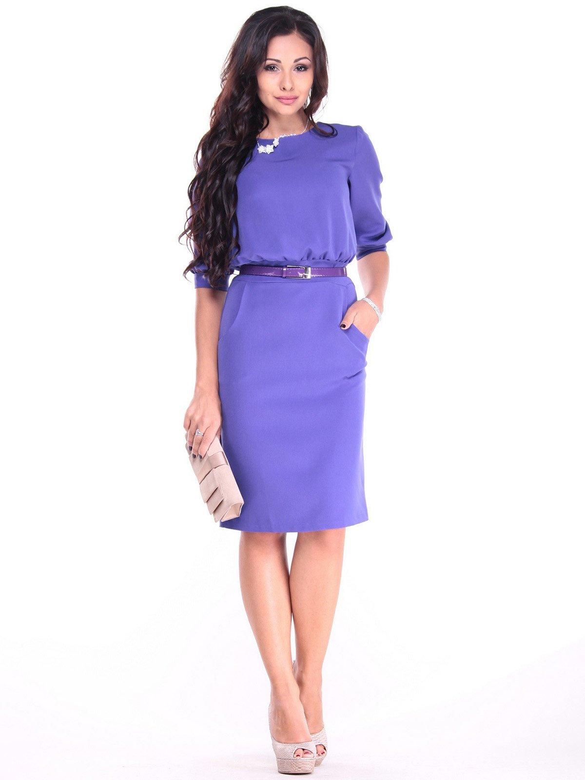 Платье сиреневого цвета | 2905250