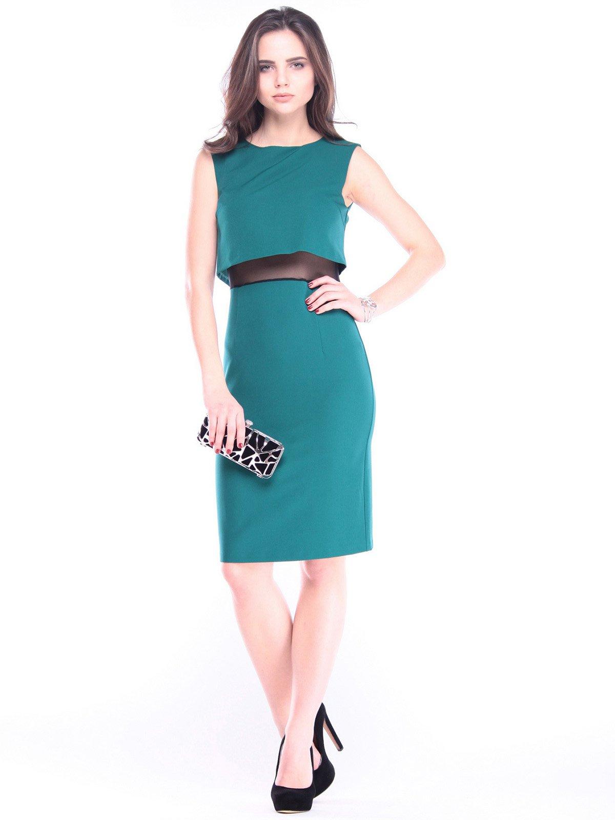 Сукня-сарафан темно-смарагдова | 2962245