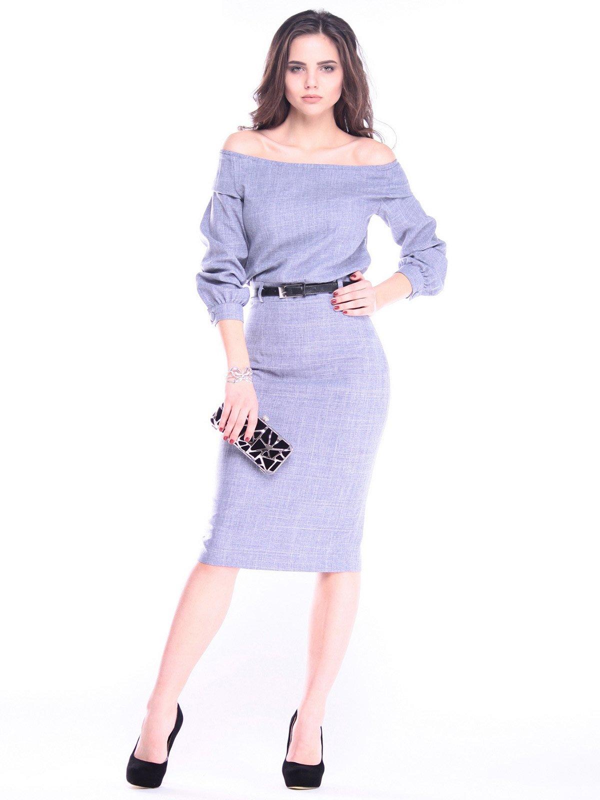 Сукня кольору фіолетового серпанку | 2962816