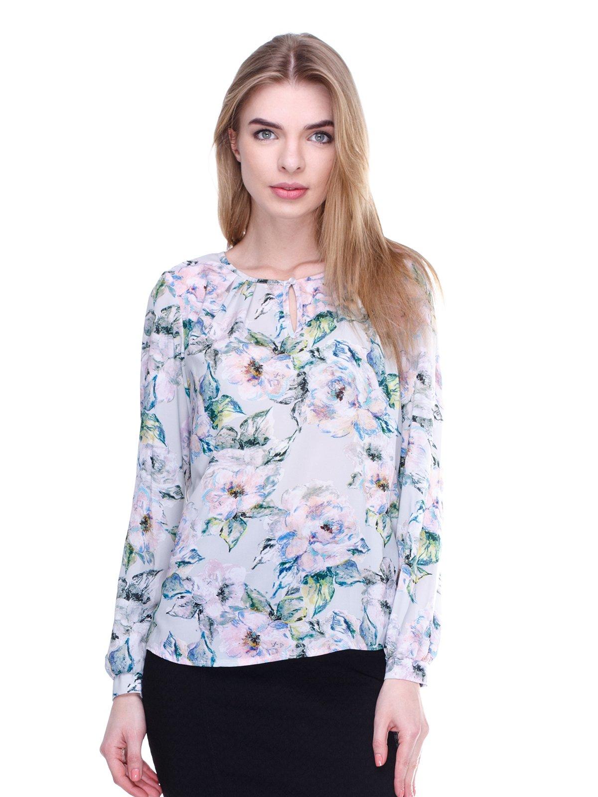 Блуза в цветочный принт   3024710