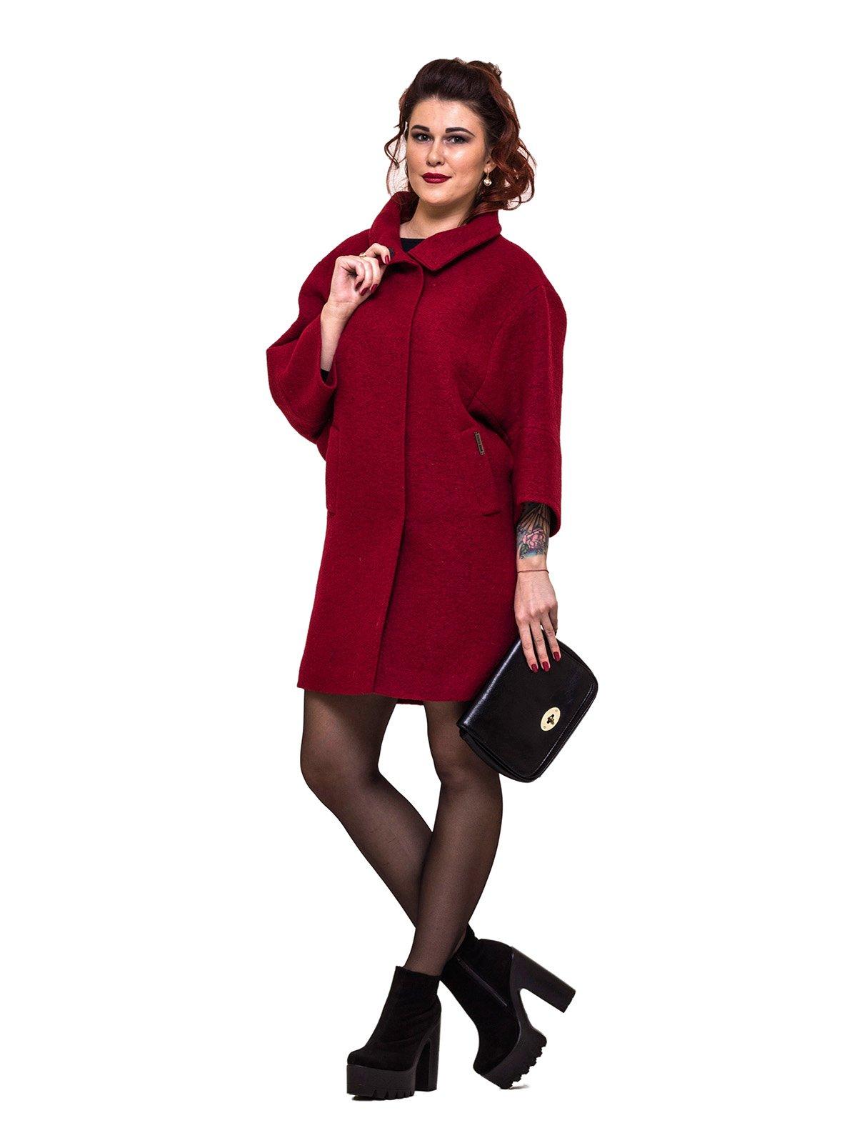 Пальто красное | 2783188 | фото 4