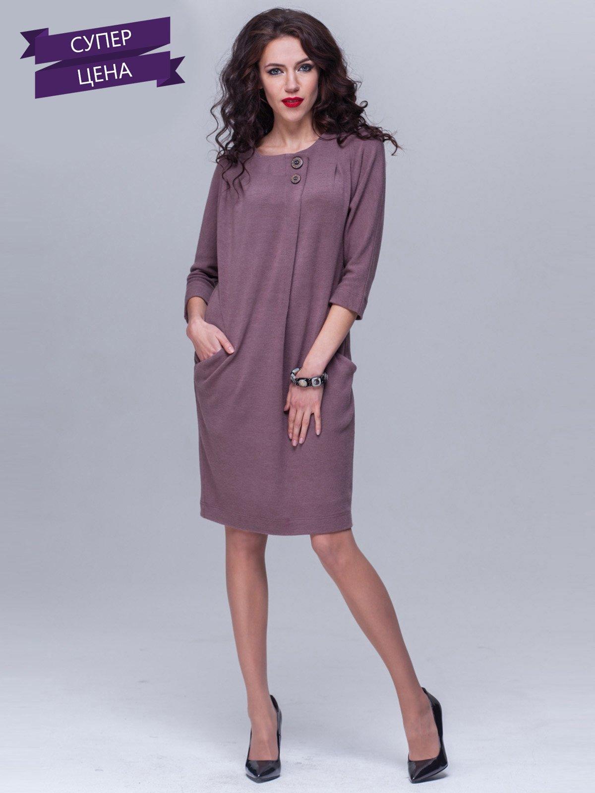 Сукня кольору какао | 2022556