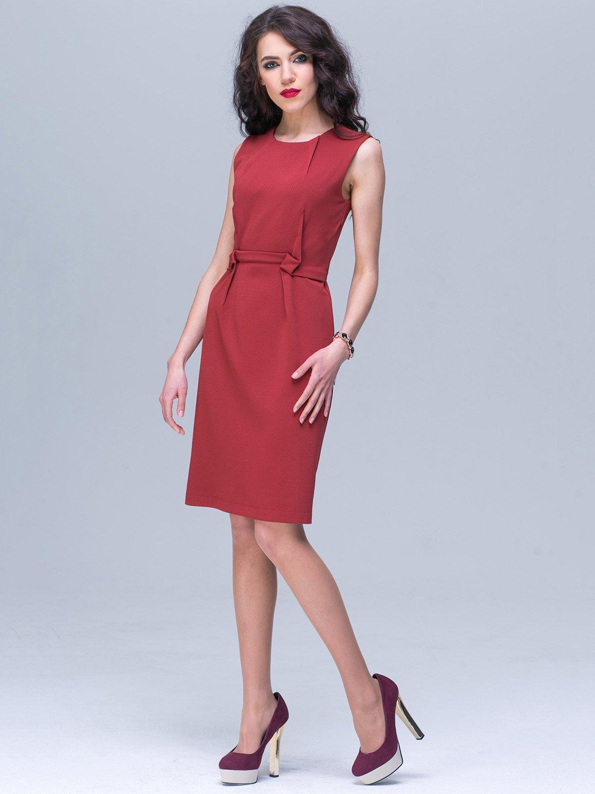 Платье терракотовое | 3032265
