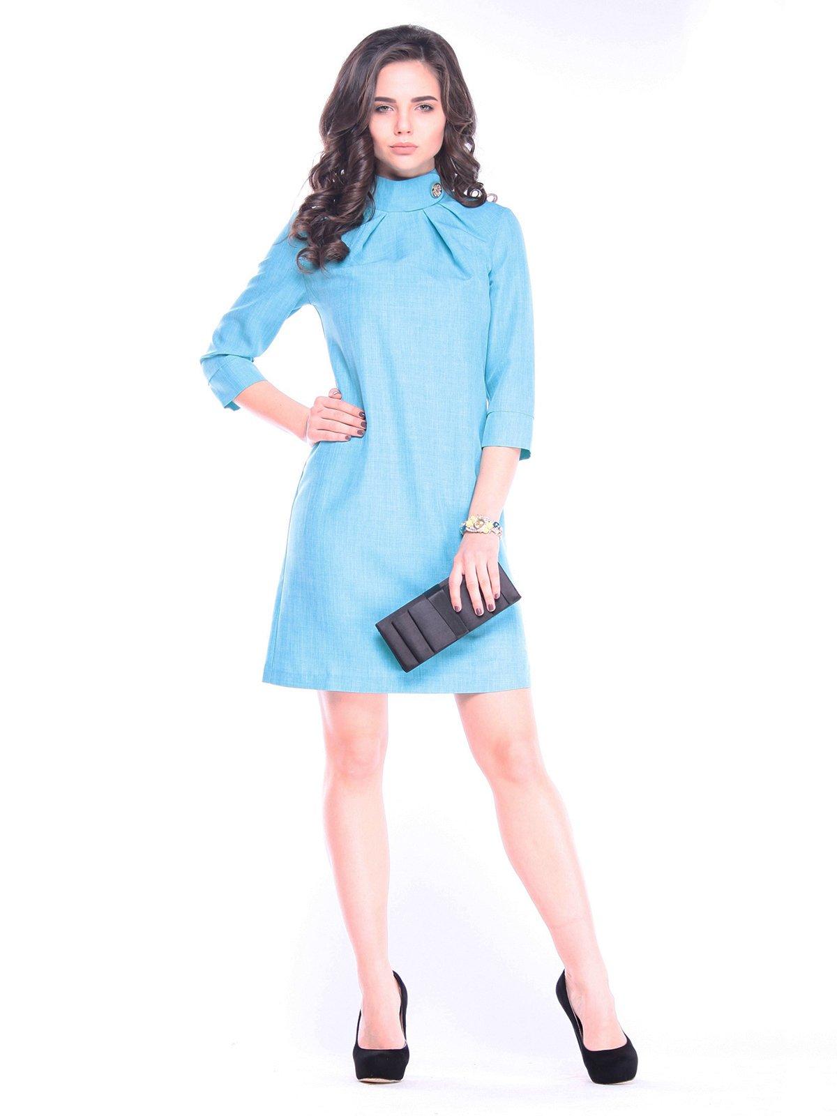 Платье ментолового цвета   3031427