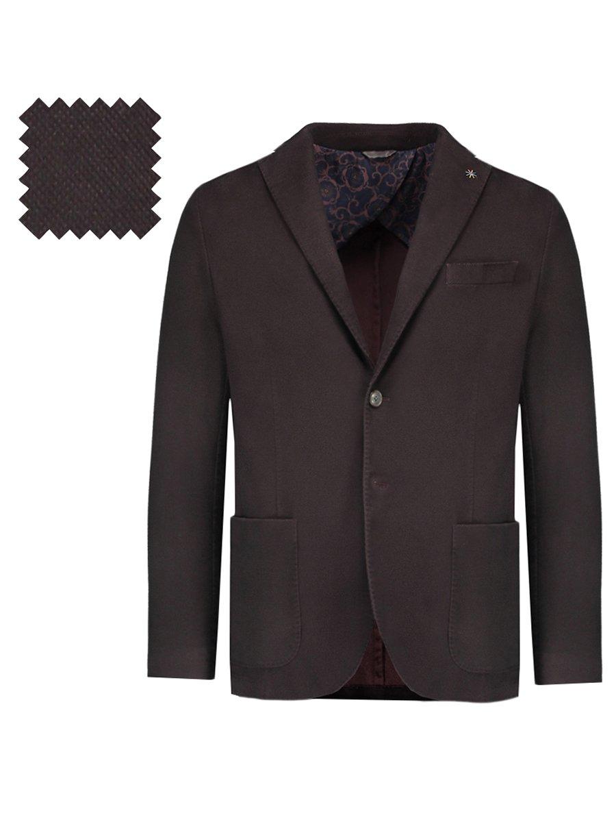 Пиджак темно-бордовый | 3037604