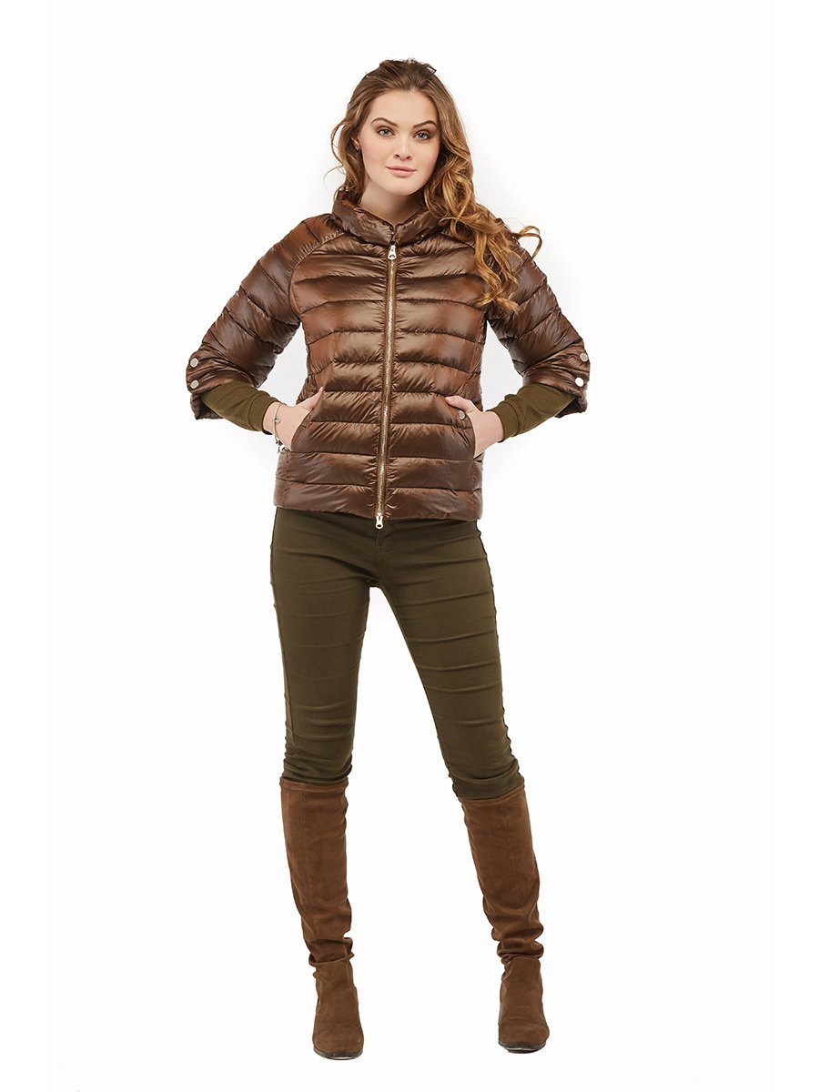 Куртка коричневая | 3043186 | фото 2
