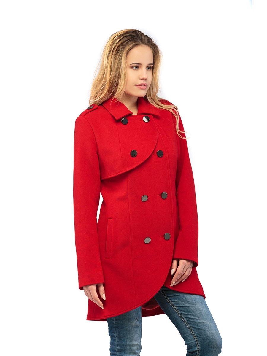 Пальто красное   3043292