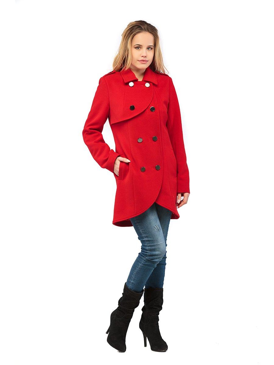 Пальто красное   3043292   фото 2