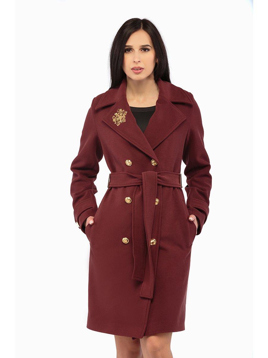 Пальто бордове | 3043295