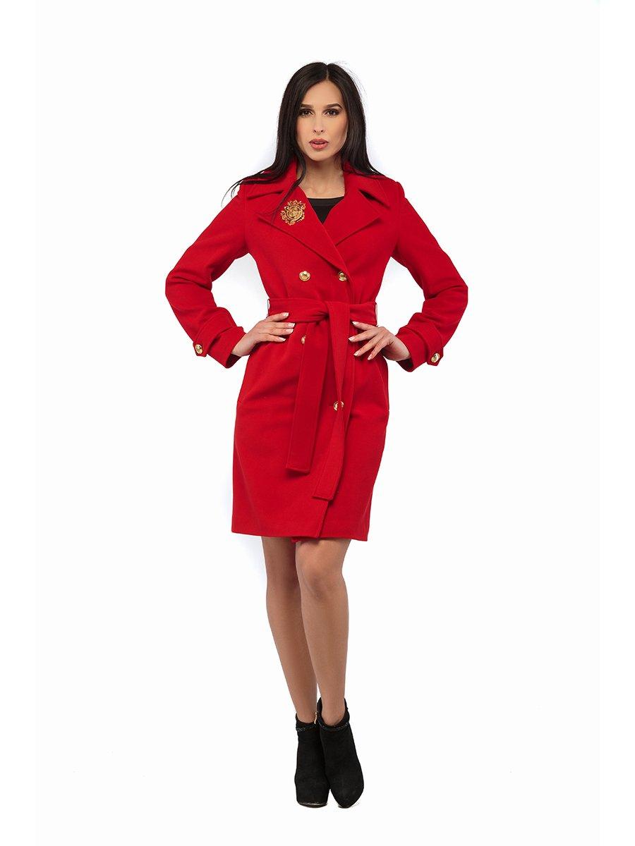 Пальто червоне | 3043296 | фото 3