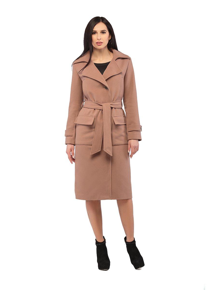 Пальто кольору капучино | 3043300 | фото 2