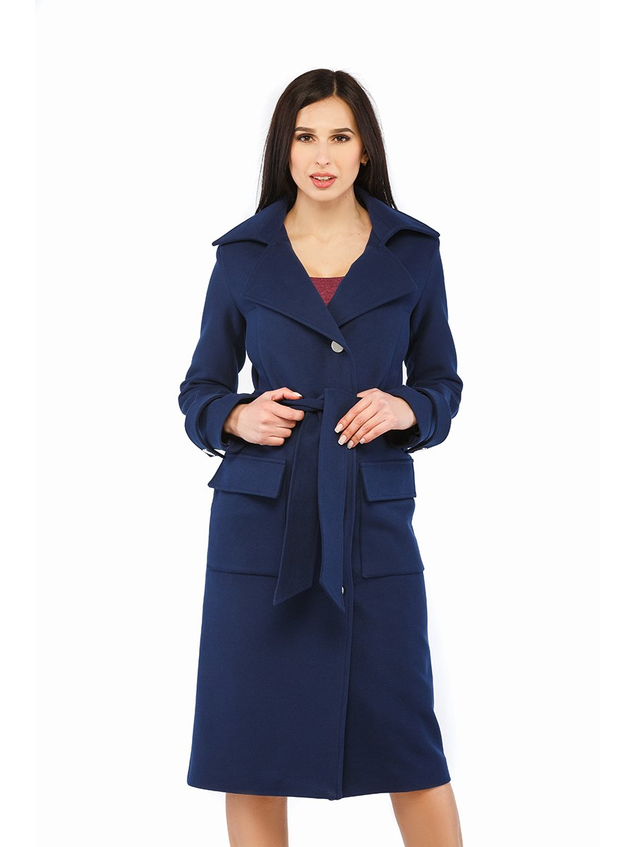 Пальто синее | 3043302 | фото 2